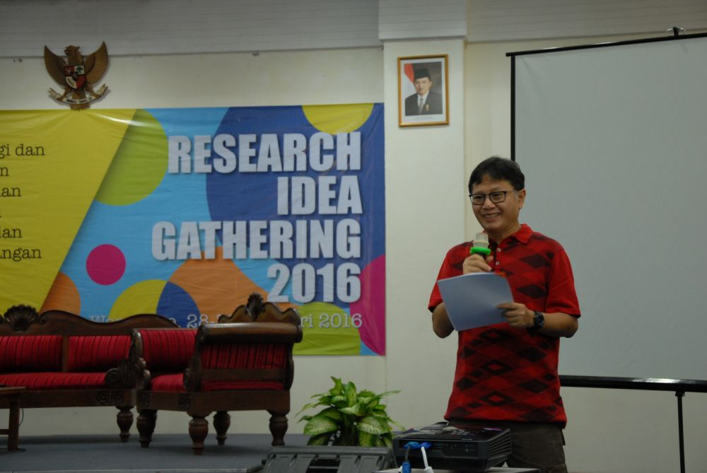 Pembukaan Research Idea Gathering Wonosobo 2016