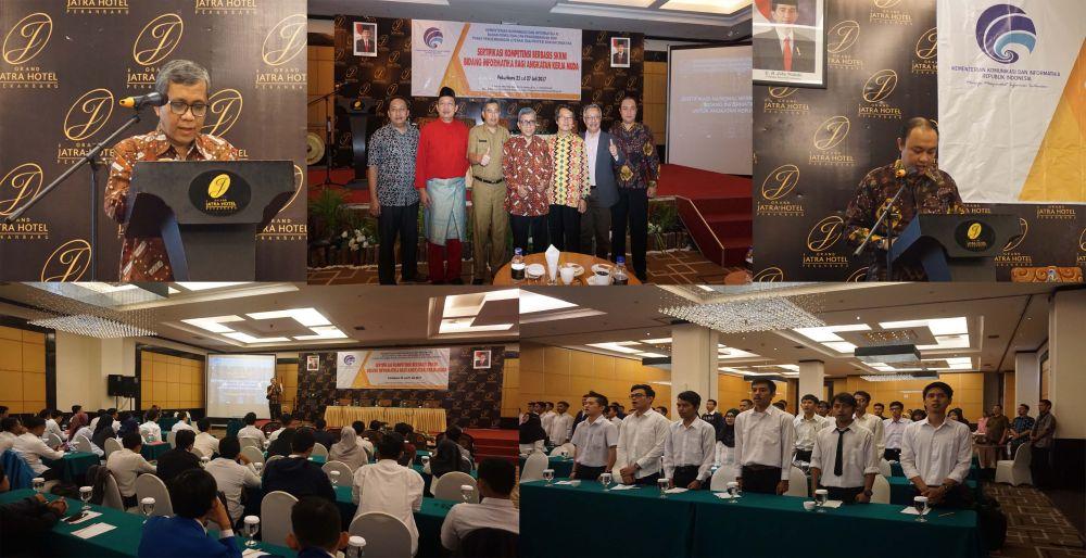 Uji Kompetensi Sertifikasi Skkni Bidang Informatika Di Pekanbaru Meluluskan 90 Peserta Berita Badan Penelitian Dan Pengembangan Sumber Daya Manusia Kementerian Komunikasi Dan Informatika Republik Indonesia